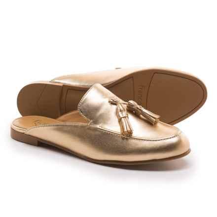 Franco Sarto Prentice Mule Shoes (For Women) in Gold Nappa - Closeouts