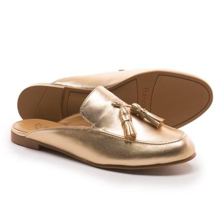 Franco Sarto Prentice Mule Shoes (For Women) in Gold Nappa