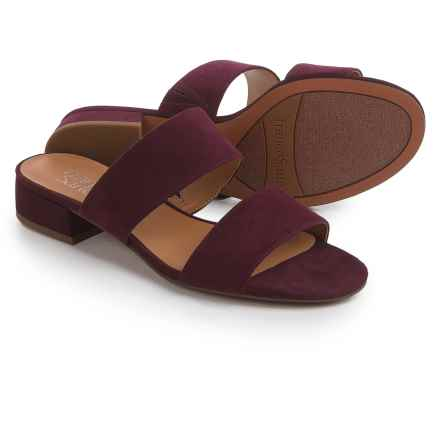 Franco Sarto Silas Sandals (For Women) in Dark Burgundy - Closeouts