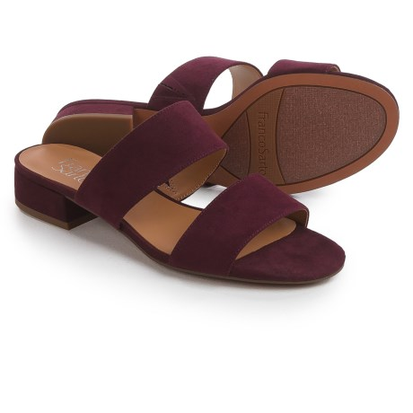 Franco Sarto Silas Sandals (For Women) in Dark Burgundy