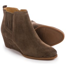 Franco Sarto Welton Wedge Boots - Suede (For Women) in Nutty Taupe - Closeouts