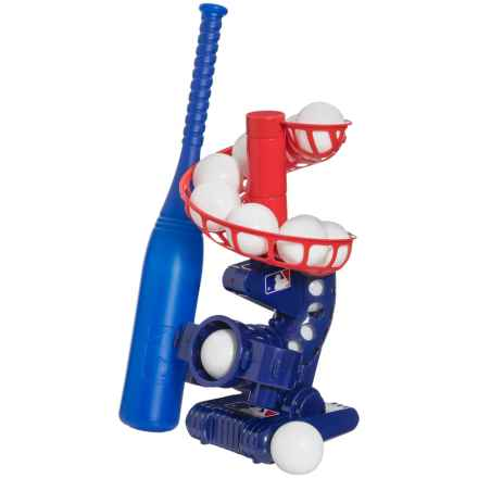 Franklin Electronic Pitching Machine in Blue/Red - Overstock