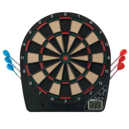 Franklin FS1500 Electronic Dartboard in Black/Green/Red - Closeouts