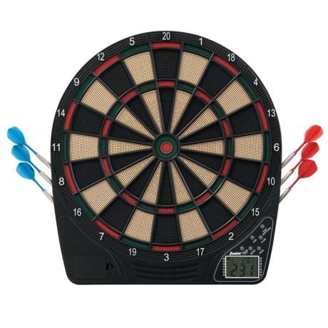 Franklin FS1500 Electronic Dartboard in Black/Green/Red