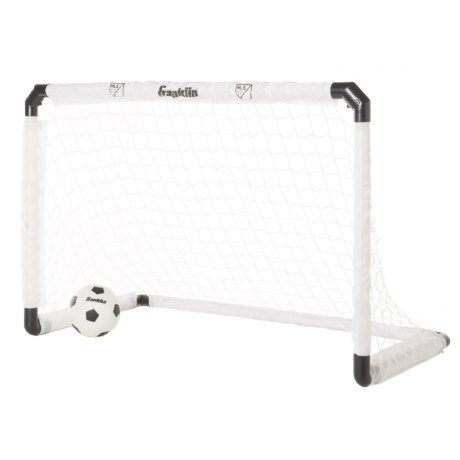 Franklin MLS Light Up Goal and Ball Set in Silver/Glow