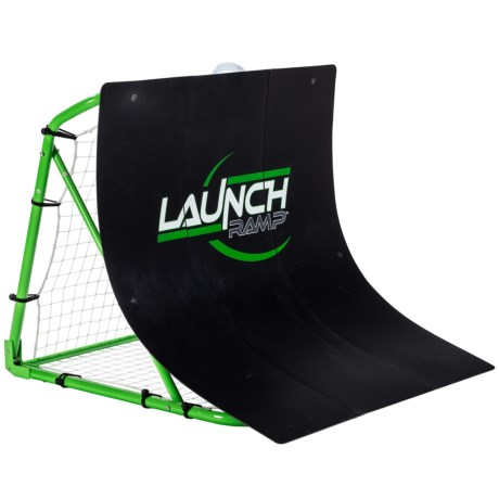 Franklin Soccer Launch Ramp in Black/Green