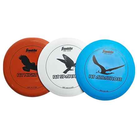 Franklin Sports Disc Golf Discs - Set of 3 in See Photo - Closeouts