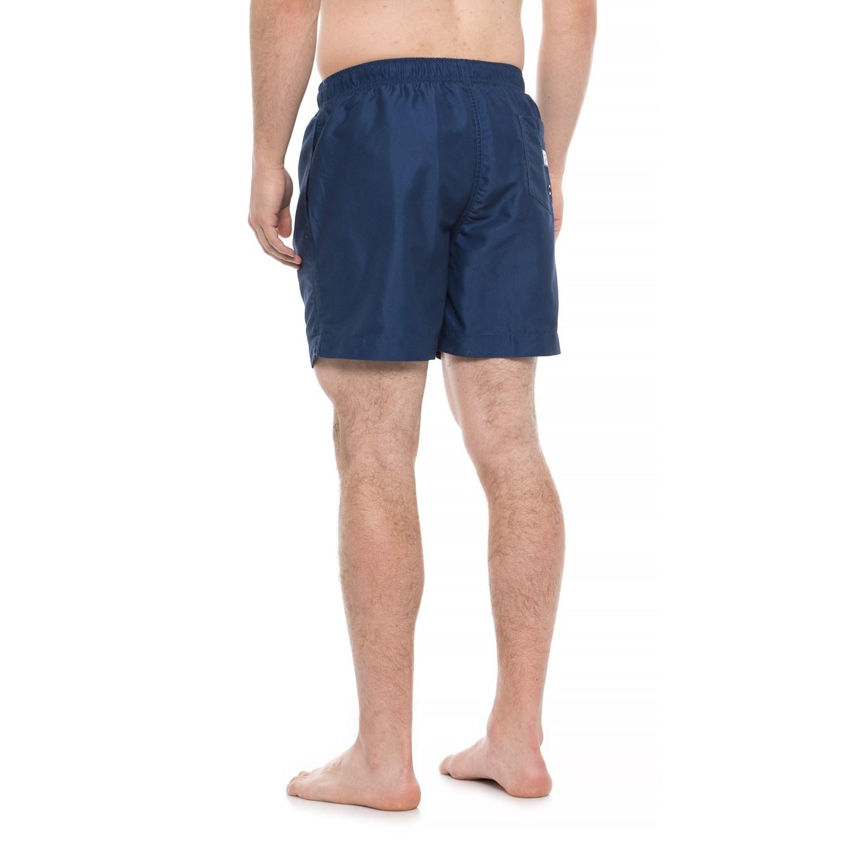 d7e2107497 Franks Australia Midnight Flight Embroidered Swim Trunks - Built-In Brief  (For Men)