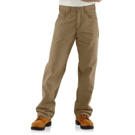 FRB159 Flame-Resistant Canvas Pants - Factory Seconds (For Men) - GOLDEN KHAKI ( )
