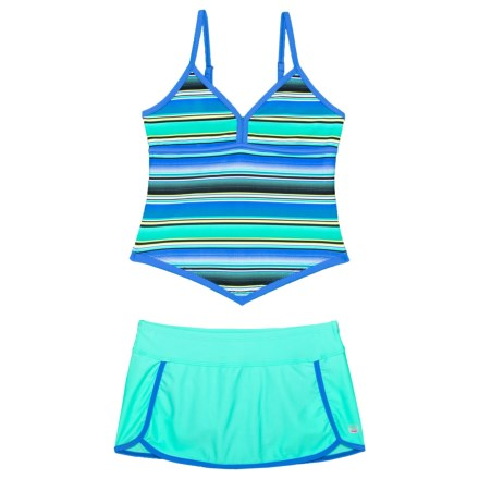 15442639f7 Free Country Adjustable Strap Apron Tankini and Skirt with Brief - 2-Piece  Set (