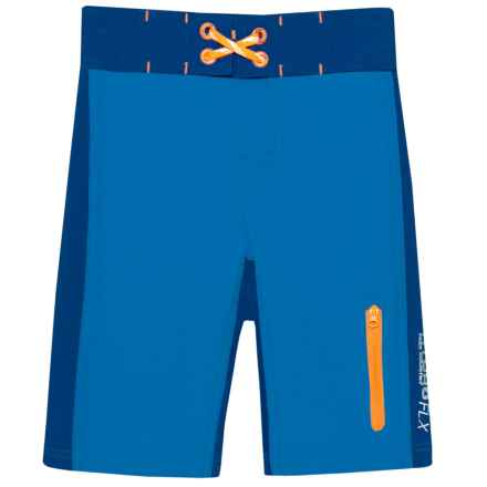 252c7c608e87e Free Country Color-Blocked Boardshorts (For Little Boys) in Electric Blue -  Closeouts