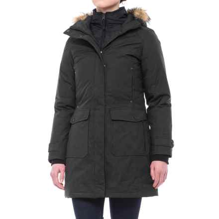 Free Country Heavy Canvas Down Parka (For Women) in Black - Closeouts