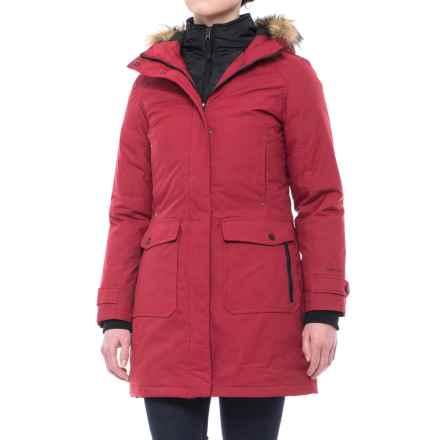 Free Country Heavy Canvas Down Parka (For Women) in Red - Closeouts