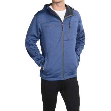 Free Country Marled Hooded Jacket - Zip Front (For Men) in Blue - Closeouts