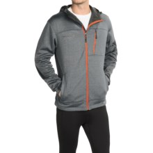 Free Country Marled Hooded Jacket - Zip Front (For Men) in Gray Heather - Closeouts