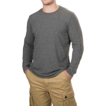 Free Country Melange Fleece Shirt - Long Sleeve (For Men) in Medium Grey - Closeouts