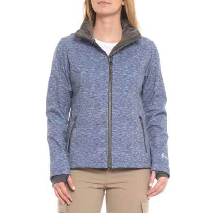 fc66f1219e6b0 Free Country Prevail Super Soft Shell Jacket (For Women) in Peri Frost  Snowy Space