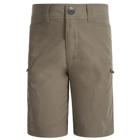 Free Country Rugged Element Shorts (For Little and Big Boys) in Oak