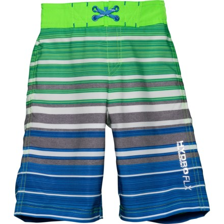d865d92a999f Free Country Splash Stripe Boardshorts - Built-In Briefs (For Little Boys)  in
