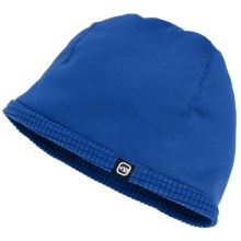 Free Country Stretch Fleece Beanie Hat - Reversible (For Boys and Girls) in Royal Blue - Closeouts