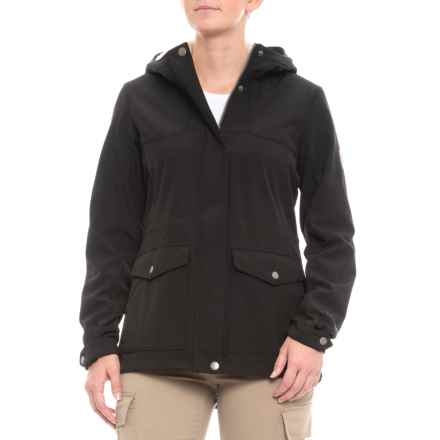 Free Country Super Soft Shell Anorak Jacket (For Women) in Black - Closeouts