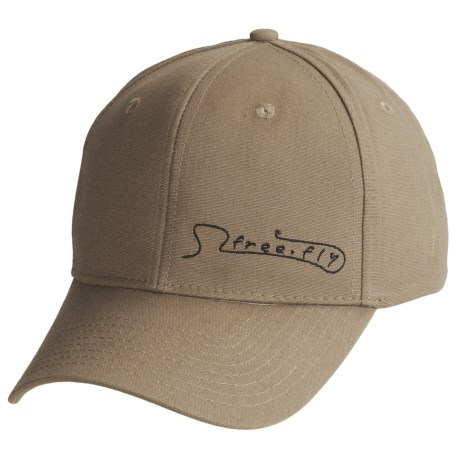 Free Fly Freestone Cap - 6-Panel in Dark Khaki