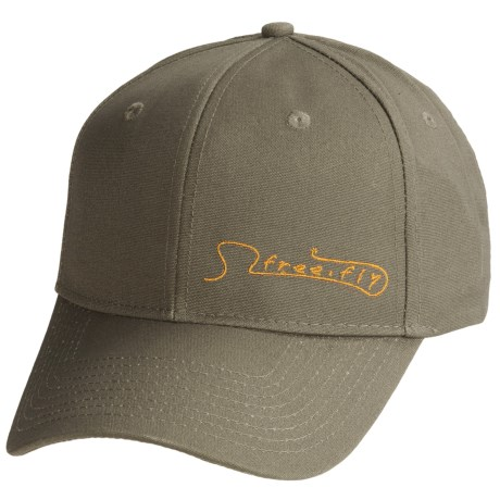 Free Fly Freestone Cap - 6-Panel in Charcoal