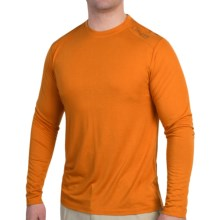 Free Fly Lightweight T-Shirt - Long Sleeve (For Men) in Burnt Orange - Closeouts