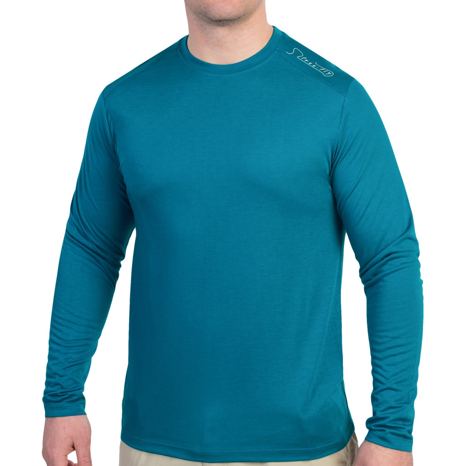 Free fly lightweight t shirt for men save 31 for Lightweight long sleeve fishing shirts