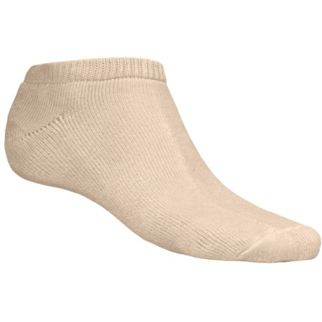 Free Fly Rayon Knit Socks - Below-the-Ankle (For Men and Women) in Natural