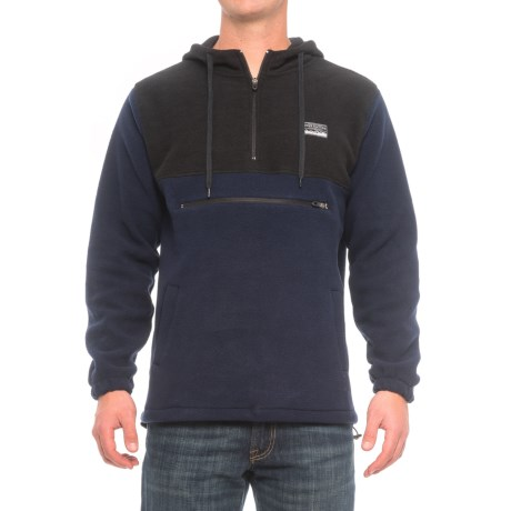 Free Nature Color-Block Hoodie - Zip Neck (For Men)