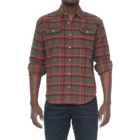 Free Nature Plaid Twill Flannel Shirt
