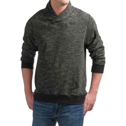 Free Nature Shawl-Collar Sweater (For Men) in Black - Closeouts
