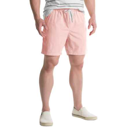 Free Nature Twill Drawstring Shorts (For Men) in Barely Pink - Closeouts
