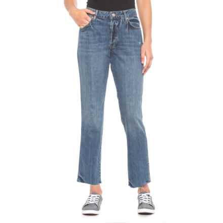 Free People Blue Slim Boyfriend Jeans (For Women) in Blue - Closeouts