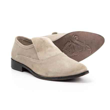 Free People Brady Loafers - Suede (For Women) in Taupe - Closeouts