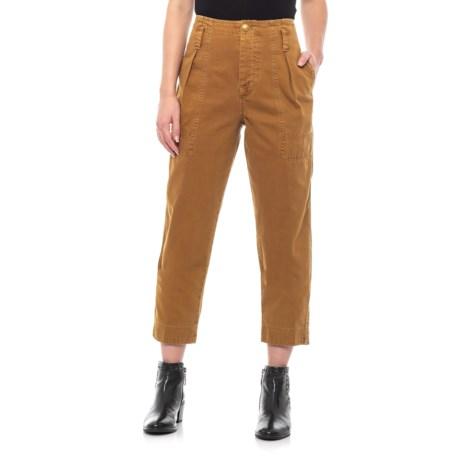 37cef27933d91 Free People Brown Cotton Boyfriend Chino Pants (For Women) - Save 18%