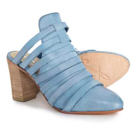 Free People Byron Mule Shoes - Suede (For Women) in Denim Blue