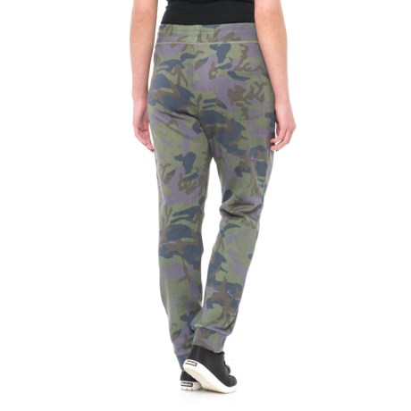 Free People Camo Scout Joggers (For Women) in Army