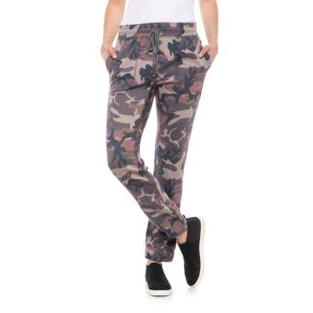 Free People Camo Scout Joggers (For Women) in Sand - Closeouts