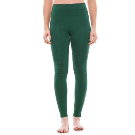Free People City Slicker Leggings - High Rise (For Women) in Green - Closeouts