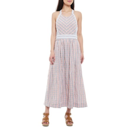 b7e9c76bd3 Free People Contemporary Color Theory Midi Dress - Sleeveless (For Women)  in Pink Combo