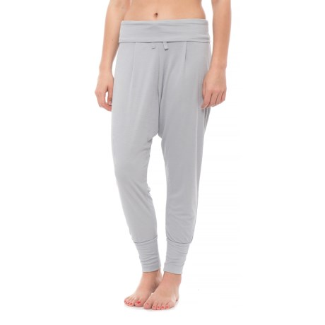 Free People Cozy Up Dance Harem Pants (For Women) in Grey