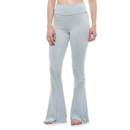 Free People Ebb and Flow Pants - Modal (For Women) in Blue - Closeouts