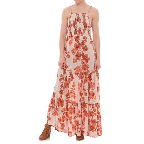 Free People Garden Party Maxi Dress - Sleeveless (For Women) in Ivory