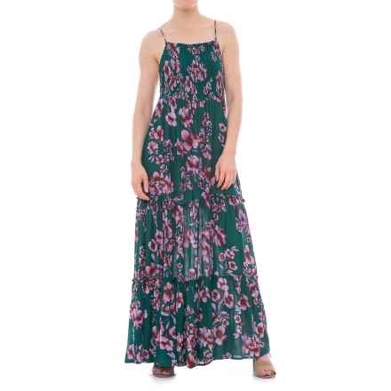 Free People Garden Party Maxi Dress - Sleeveless (For Women) in Turquoise - Closeouts