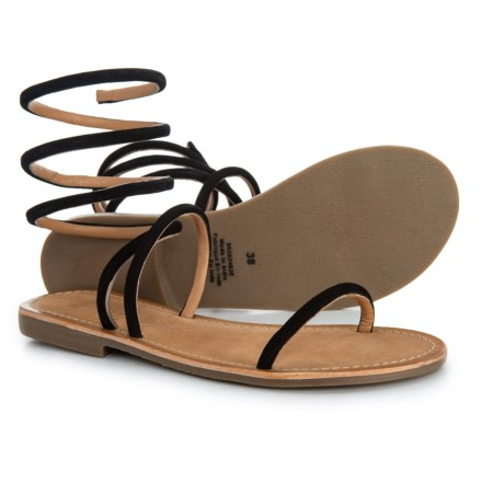 9cd7da2d33b1 Free People Havana Gladiator Sandals - Suede (For Women) in Black