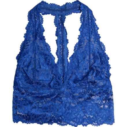 2c1891fd2f863 Free People Heartbreaker Longline Bralette - Racerback, Low Impact (For  Women) in Blue