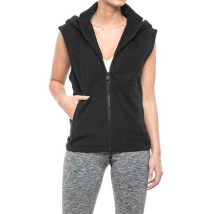 Free People Higher Ground Vest (For Women) in Black - Closeouts