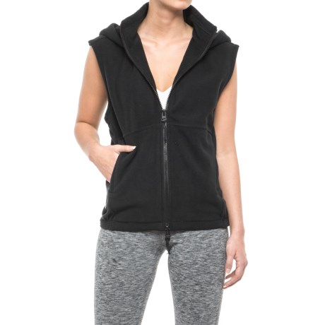 Free People Higher Ground Vest (For Women) in Black